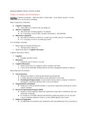 MANAGEMENT FINAL STUDY GUIDE- Chapter 10.docx
