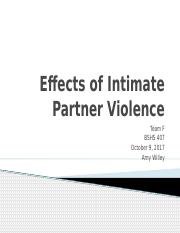 BSHS 407 week 3 team assignment Effects of Intimate Partner Violence (5).pptx