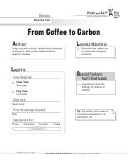 CoffeetoCarbon