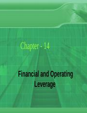 Ch_14_Financial and Operating Leverage.ppt
