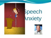 Public Speaking PART 3 - Speech Anxiety