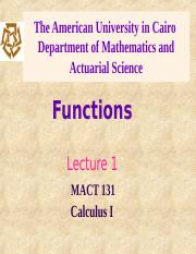 L1 Functions.ppt