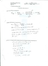 Stat 378 Midterm Solutions