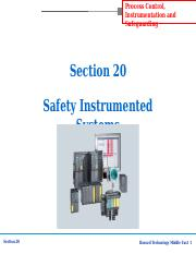 Section-20 Safety Instrumented Systems.ppt
