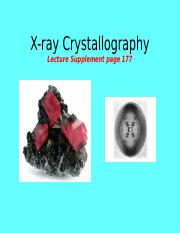 Topic12_X-ray Crystallography.ppt