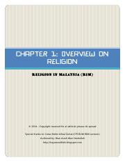 [RIM] Chapter 1 - Overview on Religion.pdf