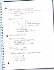 Rank,mulity, and fundenmental matrix spaces notes