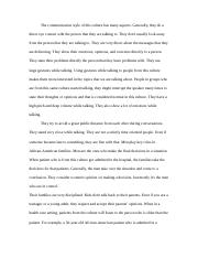 cultural difference essay.docx