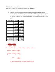 VEN123 FinalExam 2014rev Key Answers only