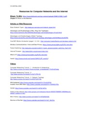 2013F_Network_Internet_Resources
