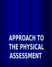 Health Assessment Chapter 3