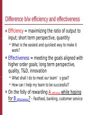 Chapter 2 Efficiency vs. Effectiveness.ppt
