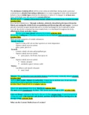 DSST Substance Abuse Study Guide 2