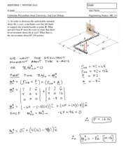 MIDTERM 1 - Solution