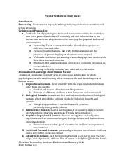 Psych 290 Midterm Study Guide