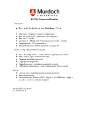 BUS 326 Test Notes TS 2016
