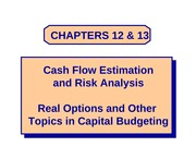 Chapters 12 & 13 - PowerPoint
