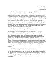 terrorist paper terrorism terrorism ebony johnson cjs  1 pages torts essay one