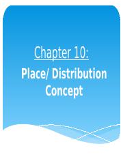 NEW Chapter 10 - PlaceConcept