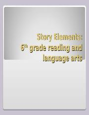 Story Elements.ppt