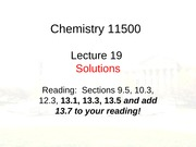 CHM 115M Lecture 19-Student Slides
