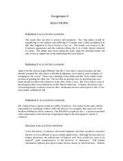 Business Ethics - MGT610 Spring 2007 Assignment 06 Solution