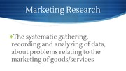Marketing Research (Unit 2)