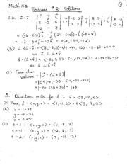 Math 152 Exercise 2