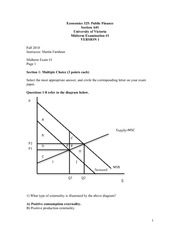 ECON 325 2010 Midterm 1 Version 1 Solutions