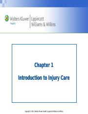 Chapter 1-Intro.Injury Care-Student