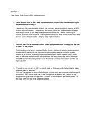 "rolls royce corporation case study 2 1 Apresentacao case study rolls royce final _ english version jan 2016 1 ""processes shielding"" 2 manufacturing engineers team iuri gribel sergio boiko ricardo militerno thais franco."