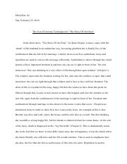 Story of An Hour Formal Paragraph .docx.pdf