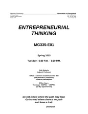 MG335-E01 Syllabus - Spring 2015 - Updated(1)