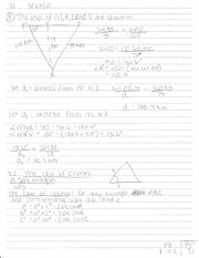 7.2 The Law of Cosines
