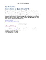 Week 3 PowerPoint & Quiz Chapter 6.docx