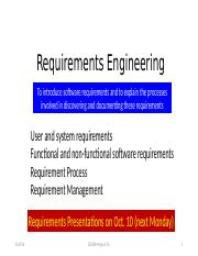 Requirements(4)