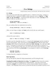 06-C++-Strings
