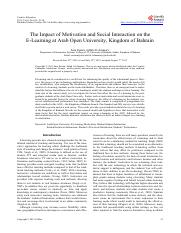 The Impact of Motivation and Social Interaction o.pdf