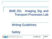 BME251_Spring2012_Lecture2_Writing&Safety_Marek