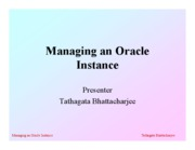 2-Managing an Oracle Instance (2)