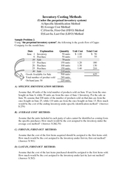 study_note_Inven_Costing Methods(2)