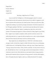 phenomenal woman analysis essay