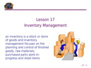 17 Inventory Management