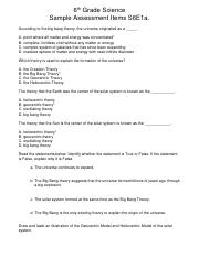 6th Grade Science Sample Assessment Items S6E1a.pdf