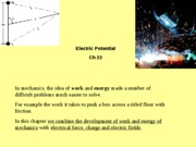 Ch 23 Electric Potential_2009