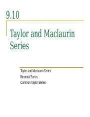 9.10__Taylor_and_Maclaurin_Series_