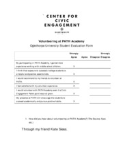 PATH Academy Eval