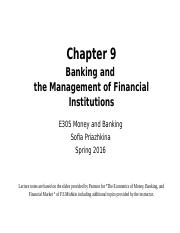 Chapter+9A+Money+and+Banking+S16