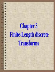 Chapter-5-Finite-Length discrete Transforms.ppt