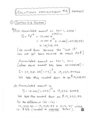 Assignment Solutions 4r
